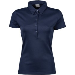 Vêtements Femme Polos manches courtes Tee Jays Pima Bleu marine