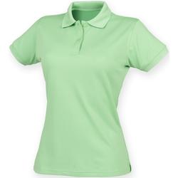 Vêtements Femme Polos manches courtes Henbury Coolplus Vert citron