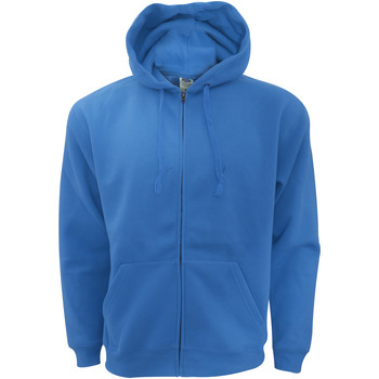 Vêtements Homme Sweats Fruit Of The Loom Hooded Bleu royal