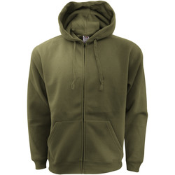 Vêtements Homme Sweats Fruit Of The Loom Hooded Olive