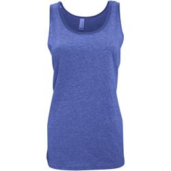 Vêtements Femme Débardeurs / T-shirts sans manche Bella + Canvas Jersey Bleu roi Triblend