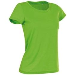 Vêtements Femme T-shirts manches courtes Stedman Cotton Touch Vert kiwi