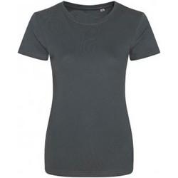 Vêtements Femme T-shirts manches courtes Ecologie Organic Gris foncé