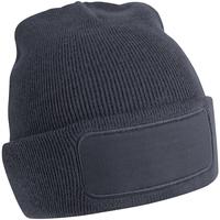 Accessoires textile Homme Bonnets Beechfield B445 Gris graphite