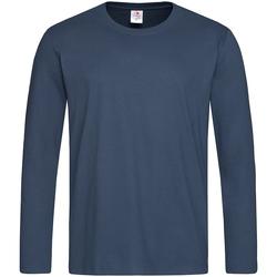 Vêtements Homme T-shirts manches longues Stedman Classics Bleu marine