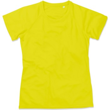 Vêtements Femme T-shirts manches courtes Stedman Raglan Jaune