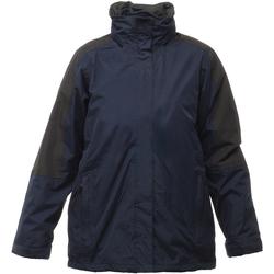 Vêtements Femme Coupes vent Regatta RG086 Bleu marine/Noir