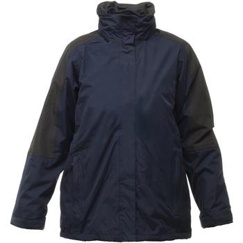 Vêtements Femme Coupes vent Regatta Defender Bleu marine/Noir