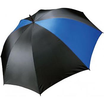 Accessoires textile Parapluies Kimood Golf Noir/Bleu roi