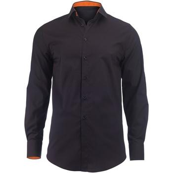 Vêtements Homme Chemises manches longues Alexandra Hospitality Noir/Orange