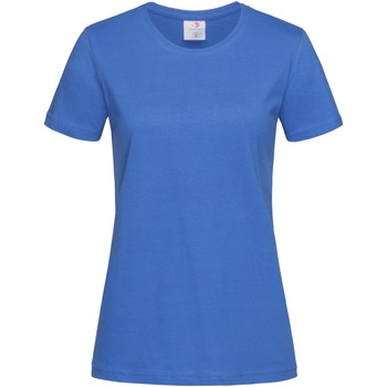 Vêtements Femme T-shirts manches courtes Stedman Classics Bleu roi