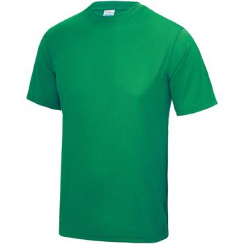 Vêtements Enfant T-shirts manches courtes Just Cool JC01J Vert tendre