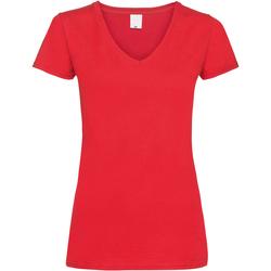 Vêtements Femme T-shirts manches courtes Universal Textiles Value Rouge vif