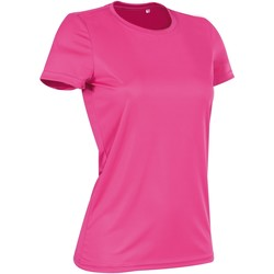 Vêtements Femme T-shirts manches courtes Stedman Active Active Rose