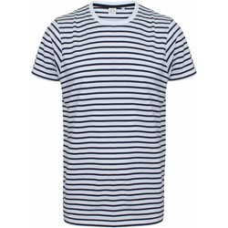Vêtements Musse & Cloud Skinni Fit Striped Blanc / bleu marine