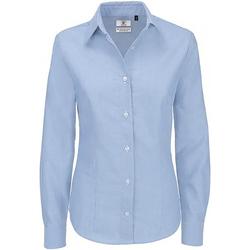 Vêtements Femme Chemises / Chemisiers B And C Oxford Bleu clair