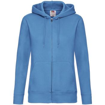 Vêtements Femme Sweats Fruit Of The Loom Hooded Bleu azur