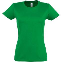 Vêtements Femme T-shirts manches courtes Sols Imperial Vert
