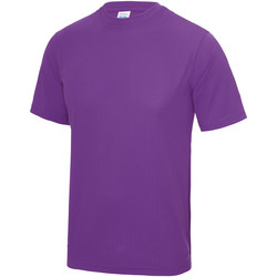Vêtements Homme T-shirts manches courtes Just Cool Performance Magenta