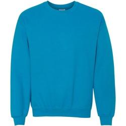Vêtements Sweats Gildan 18000 Bleu vif