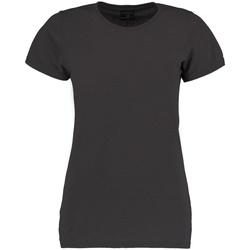 Vêtements Femme T-shirts manches courtes Kustom Kit Superwash Gris foncé marne