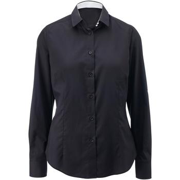 Vêtements Femme Chemises / Chemisiers Alexandra AX060 Noir/Blanc