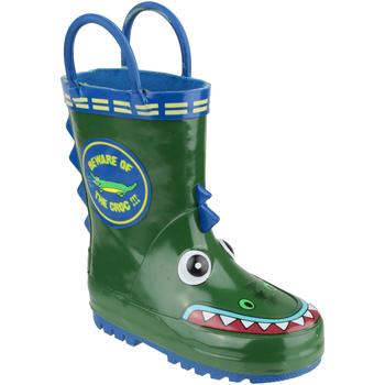 Chaussures Garçon Bottes de pluie Cotswold Puddle Vert / bleu
