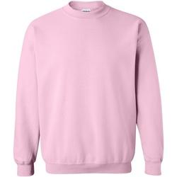 Vêtements Sweats Gildan 18000 Rose clair