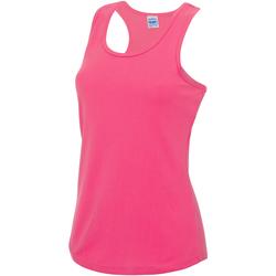 Vêtements Femme Débardeurs / T-shirts sans manche Just Cool Girlie Rose électrique