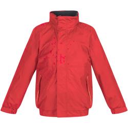 Vêtements Enfant Coupes vent Regatta TRW418 Rouge classique/Bleu marine