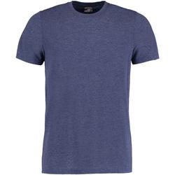 Vêtements Homme T-shirts manches courtes Kustom Kit Fashion Fit Denim marne