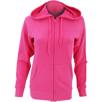 Vêtements Femme Sweats Fruit Of The Loom Lightweight Fuchsia
