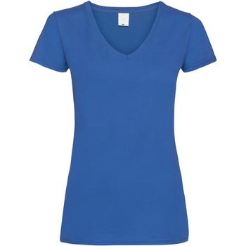 Vêtements Femme T-shirts manches courtes Universal Textiles Value Cobalt