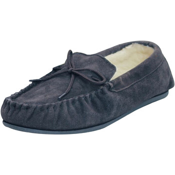 Chaussures Chaussons Eastern Counties Leather Moccasin Bleu marine