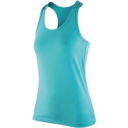Vêtements Femme Débardeurs / T-shirts sans manche Spiro Softex Menthe poivrée
