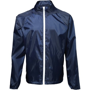 Vêtements Homme Coupes vent 2786 Contrast Bleu marine/Blanc