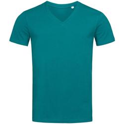 Vêtements Homme T-shirts manches courtes Stedman Stars Organic Bleu pétrole
