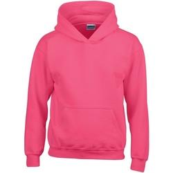 Vêtements Enfant Sweats Gildan 18500B Rose foncé