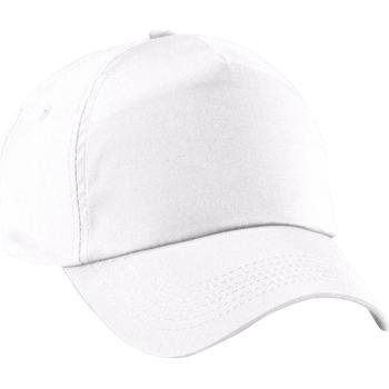 Accessoires textile Fille Casquettes Beechfield Baseball Blanc