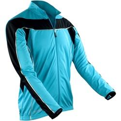 Vêtements Homme Vestes de survêtement Spiro Performance Aqua/Noir