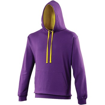 Vêtements Sweats Awdis Hooded Violet / jaune