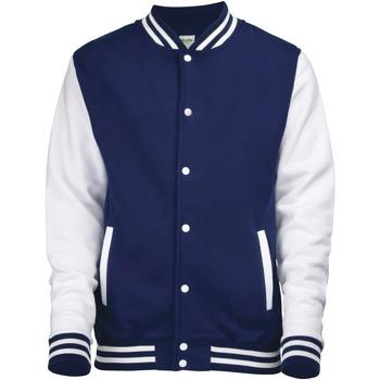 Vêtements Homme Blousons Awdis JH043 Bleu marine/Blanc