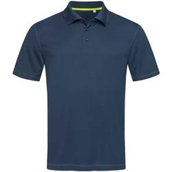 Vêtements Homme Polos manches courtes Stedman Mesh Bleu Marine