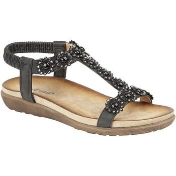 Chaussures Femme Sandales et Nu-pieds Cipriata Giovanna Noir