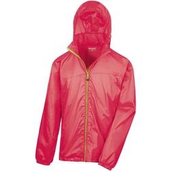 Vêtements Coupes vent Result Hydradri Rouge/Vert