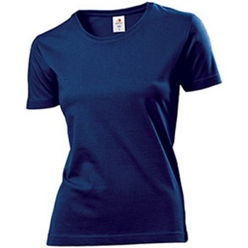 Vêtements Femme T-shirts manches courtes Stedman Comfort Bleu marine