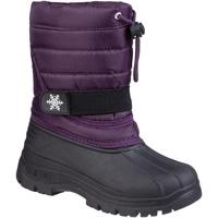Chaussures Enfant Bottes de neige Cotswold Icicle Violet