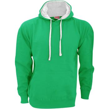 Vêtements Homme Sweats Fdm Contrast Vert tendre/Blanc
