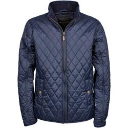 Vêtements Homme Doudounes Tee Jays Diamond Pattern Bleu marine profond