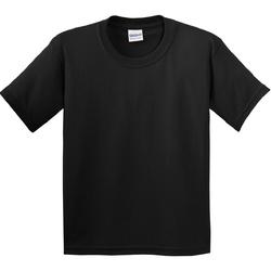 Vêtements Enfant T-shirts manches courtes Gildan 5000B Noir